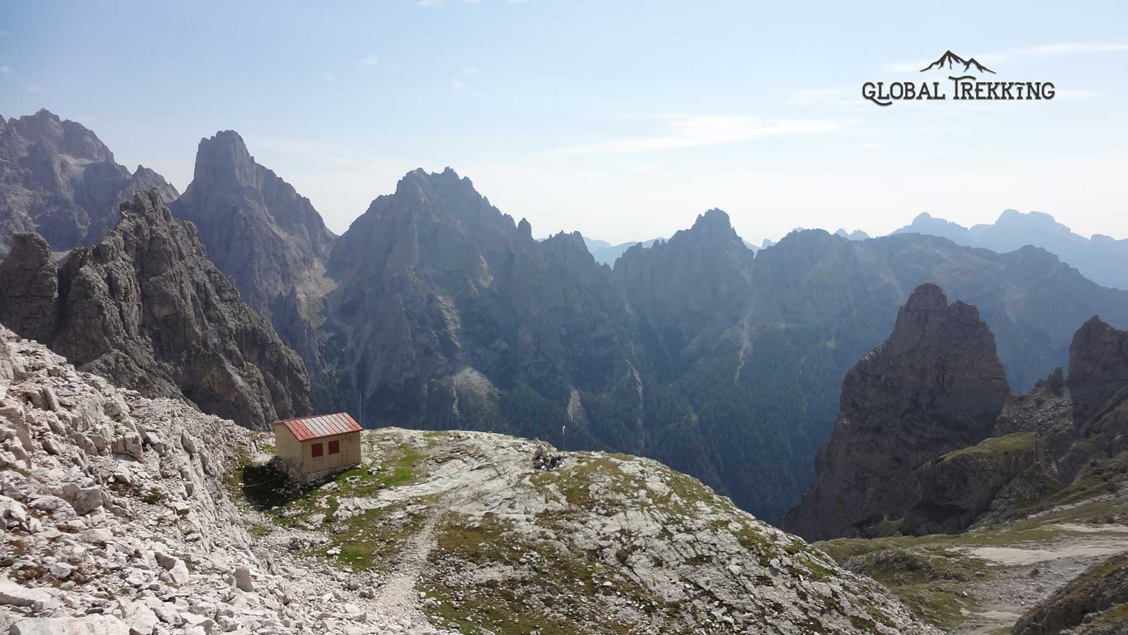 Are the Dolomites part of the Alps